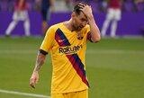 """""""Barcelonos"""" strategas paaiškino, kodėl negali suteikti L.Messi reikalingo poilsio"""