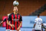 """Z.Ibrahimovičius ir """"AC Milan"""" nesutaria dėl algos: 5 mln. eurų per metus švedo netenkina"""
