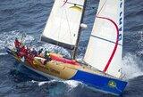 """""""Team Brunel"""" komanda Karibuose gavo šansą  revanšui prieš jachtą """"Ambersail"""""""
