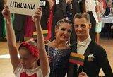 Europos čempionato pusfinalyje – Lietuvos šokėjai