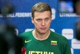 """D.Adomaitis apgailestavo dėl situacijos, į kurią pastatomi krepšininkai: """"Čia yra didžiausia beprasmybė"""""""