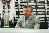 """V.Čeburinas: """"Šiuo metu nėra nei vieno klubo, su kuriuo vesčiau derybas"""""""