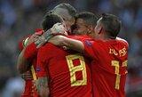 L.Enrique debiutas neprisvilo: Ispanijos rinktinė išvykoje po dramatiškos kovos nugalėjo anglus