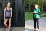 Nesustabdoma: besilaukianti lengvaatletė V.Žūsinaitė planuoja startuoti Kauno maratone