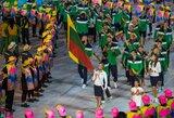 Lyčių lygybė Tokijo olimpinėse žaidynėse: atidarymo ceremonijoje – du vėliavnešiai