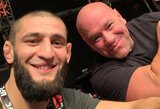 S.Thompsonas pateikė savo versiją, kodėl UFC kuria tokį didelį ažiotažą aplink Ch.Čimajevą
