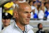 Pamatykite: Z.Zidane'o talentas niekur nedingo – tikslus trenerio smūgis iš minusinio kampo