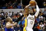 """Į septintąją vietą pakilusi """"Pacers"""" atkrintamosiose žais prieš """"Raptors"""""""
