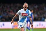 """Dominavimas tęsiasi: """"Napoli"""" laimėjo dešimtas """"Serie A"""" rungtynes iš eilės"""