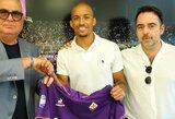 """Oficialu: """"Fiorentina"""" įsigijo sužibėjusį krašto gynėją iš Portugalijos"""