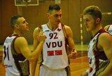 Žalgiriečiai padėjo VDU komandai patekti į LSKL finalą