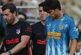 """Atletico"" gali lengviau atsikvėpti: J.Felixo patirta trauma nėra rimta"