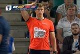Olimpinį čempioną aplenkęs E.Matusevičius prestižinėse varžybose užėmė trečią vietą