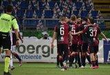 """Juventus"" krito prieš ""Cagliari"" futbolininkus"