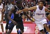 """""""Olympiacos"""" laukia """"Clippers"""" gretose žaidžiančio D.Morriso"""