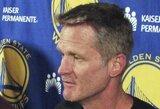 """S.Kerras pirmose finalo rungtynėse """"Warriors"""" komandos netreniruos"""