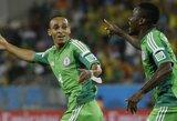 Teisėjų apvogti bosniai atsisveikina su pasaulio čempionatu, Nigerija – arti aštuntfinalio