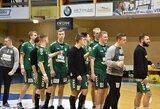 """Tašką prieš latvius iškovojęs """"Granitas-Karys"""" užsitikrino vietą Baltijos rankinio lygos ketvirtfinalyje"""