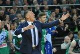 """Š.Jasikevičius: """"Reikia pripažinti, kad visai neparuošiau komandos psichologiškai ir fiziškai"""""""