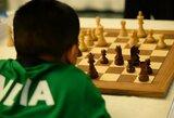 Lietuvos jaunučių rinktinė šachmatų olimpiadoje užėmė 13-ą vietą