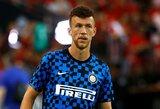"""Su """"Bayern"""" siejamas I.Perišičius nesirodo """"Inter"""" treniruotėse"""