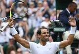 R.Nadalis antrą kartą per pastaruosius septynerius metus žais Vimbldono ketvirtfinalyje