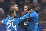 """""""Inter"""" sužinojo bausmę dėl rasistinių proveržių sirgalių tribūnose"""