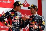 """C.Horneris: """"Nesutarimų tarp M.Webberio ir S.Vettelio neturėtų kilti"""""""