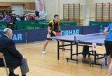T.Mikutis permainingai pradėjo stalo teniso turnyrą Lenkijoje