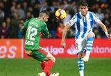 """""""Alaves"""" minimaliu rezultatu įveikė """"Real Sociedad"""""""