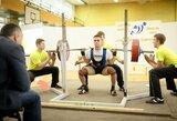 P.Pupinis ir A.Motiečius Europos jaunimo jėgos trikovės čempionate iškovojo mažuosius bronzos medalius