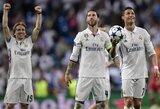 """S.Ramosas triumfuoja: """"Šios komandos niekada negalima nurašyti"""""""