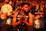 """Įspūdingo pataikymo dėka """"Cavaliers"""" ir """"Timberwolves"""" pasiekė NBA rekordą"""