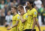 """""""Borussia"""" klubas patyrė pirmą sezono pralaimėjimą (+ kiti rezultatai)"""