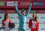 """F.Aru – naujasis """"Vuelta a Espana"""" čempionas, G.Bagdonas paskutiniame etape pasiekė geriausią asmeninį rezultatą"""
