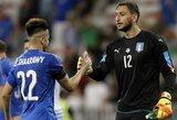 """""""Sky Sports"""": PSG siekia įsigyti """"Milan"""" vartininką G.Donnarummą"""