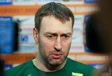 """Rinktinės treneris: """"Mes esame visiškai kitokia komanda, negu buvome čempionate"""""""