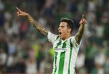 """Kamuoliu su varžovais nesidalinę """"Real Betis"""" dėl pergalės vargo 89 minutes"""