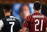 """""""Everton"""" strategas C.Ancelotti sulygino Z.Ibrahimovičių su C.Ronaldo"""