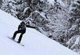 Lietuvos snieglentininkai pasaulio jaunimo čempionato akrobatinio nuolydžio rungtyje nepateko į finalą