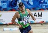 J.Kinderis užtikrintai pradėjo pasaulio čempionatą, D.Vaivada apmaudžiai nepateko į finalą