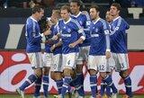 """Devynių įvarčių šou Vokietijoje pasibaigė """"Schalke"""" pergale"""