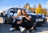 Automobilių slalome Plungėje – netikėta dviejų sesių dvikova
