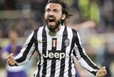 """M.Verratti: """"Lyginant su A.Pirlo, aš net kamuolio nemoku išmesti"""""""