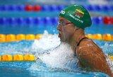 R.Meilutytė pasaulio taurės varžybas Maskvoje baigė įspūdingu Lietuvos rekordu
