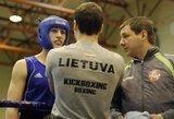 Pasaulio jaunių bokso čempionate E.Limanas patyrė nokautą