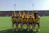 Lietuvos U-17 futbolo rinktinė nugalėjo Lichtenšteiną