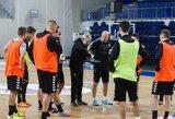 Lietuvos salės futbolo rinktinė rengiasi rungtynėms su Andora