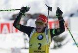 Pasaulio biatlono čempionatas baigėsi dvigubu vokiečių triumfu