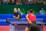 R.Paškauskienė atvedė Lietuvos moterų stalo teniso rinktinę į pergalę prieš estes